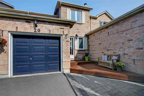 Townhouse for sale at 20 Gates Cres Ajax Ontario - MLS: E4916178