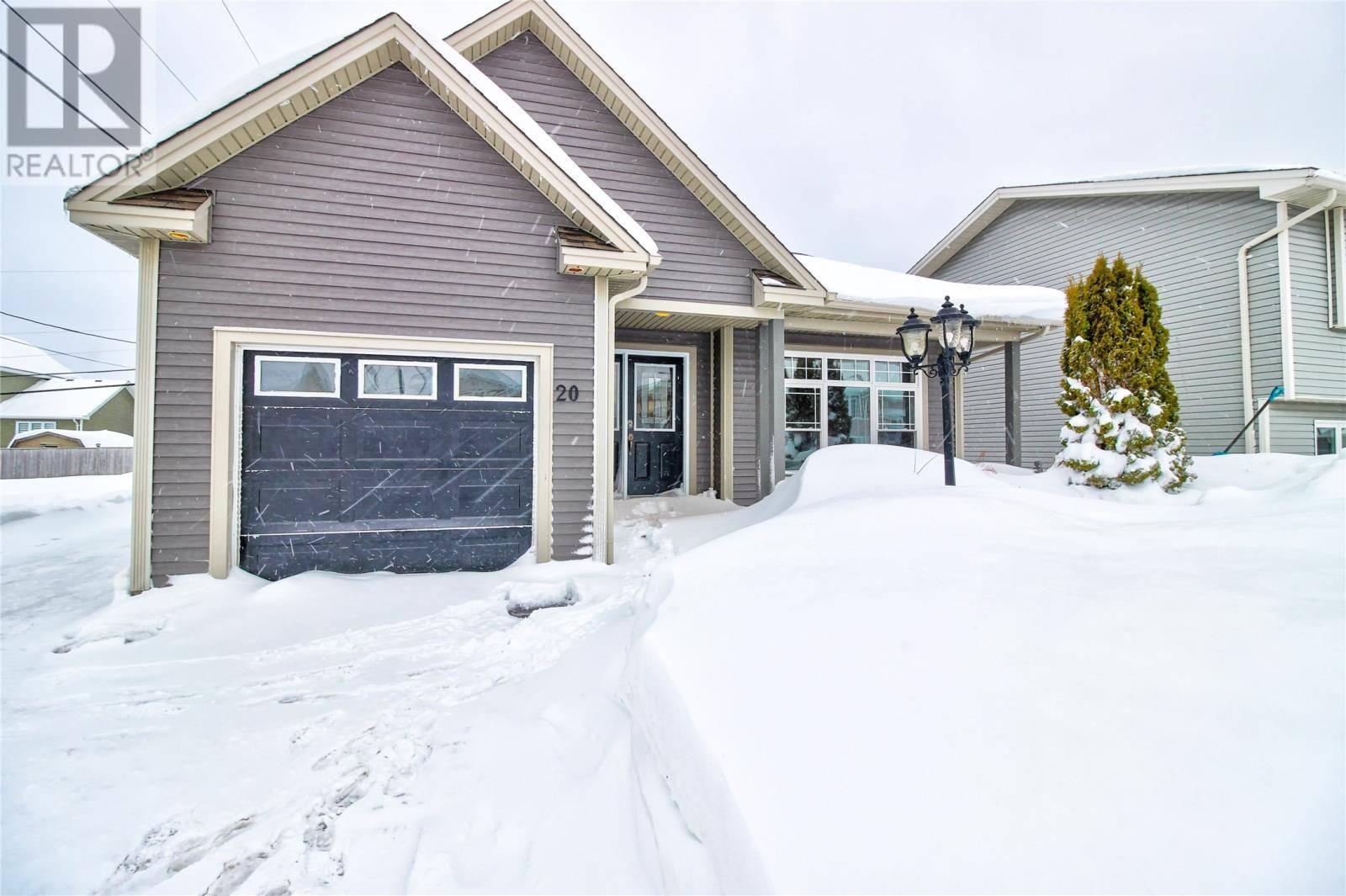 House for sale at 20 Gil Eannes Dr St. John's Newfoundland - MLS: 1209174