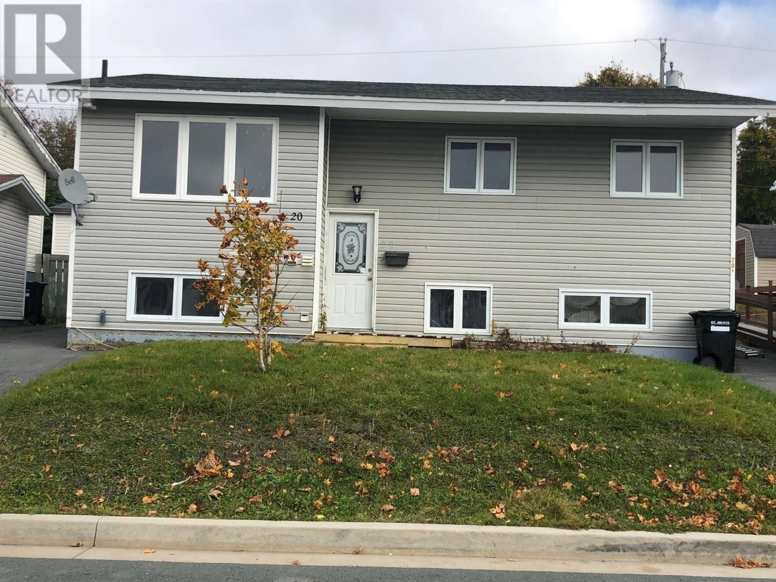 House for sale at 20 Gorman Ave St. John's Newfoundland - MLS: 1205713