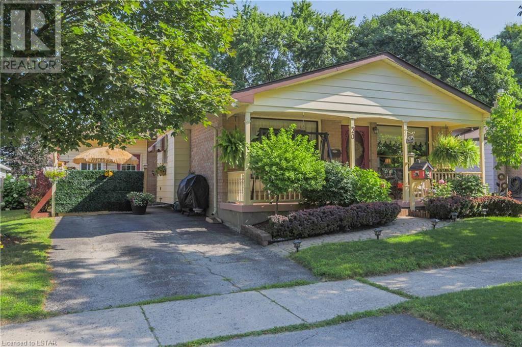 House for sale at 20 Haliburton Cres London Ontario - MLS: 211576