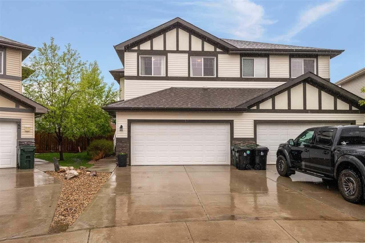 Townhouse for sale at 20 Hamilton Co Spruce Grove Alberta - MLS: E4198244