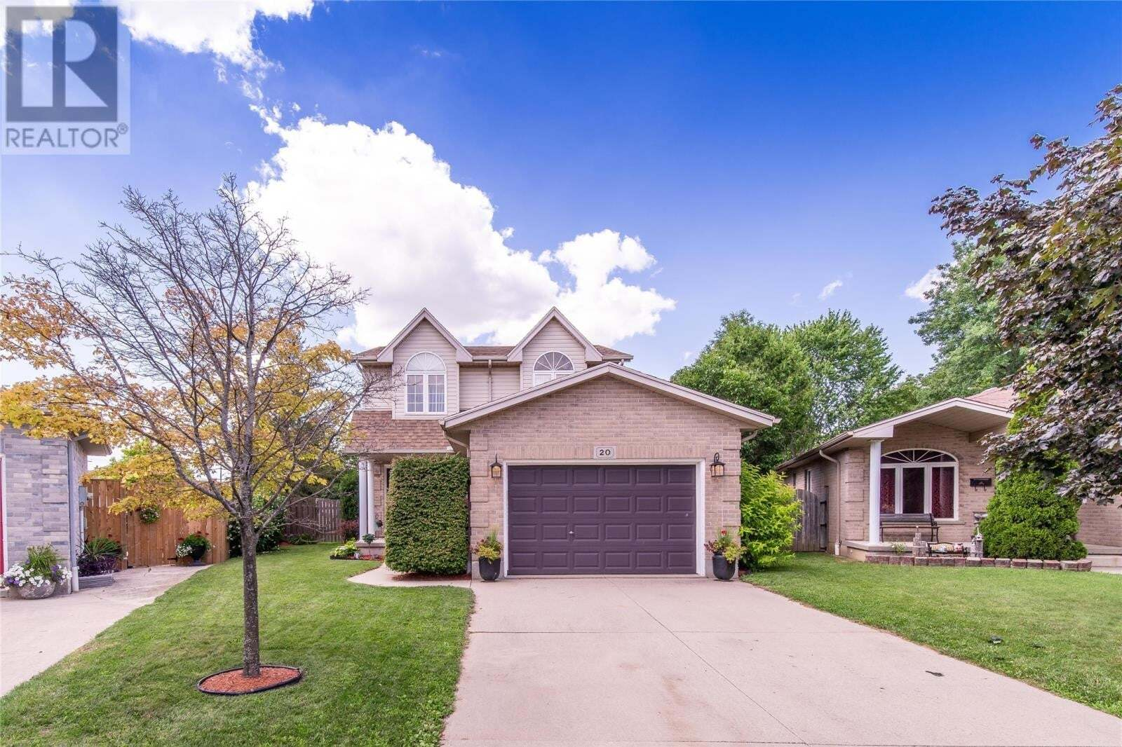 House for sale at 20 Hampton Ct Chatham Ontario - MLS: 20009933