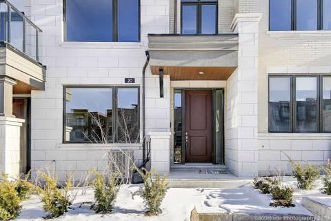 Townhouse for sale at 20 Heriot Pl Vaughan Ontario - MLS: N4423440