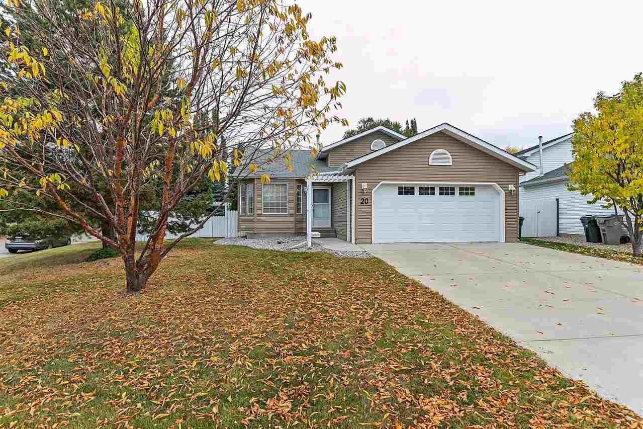 House for sale at 20 High Park Pl Stony Plain Alberta - MLS: E4217119