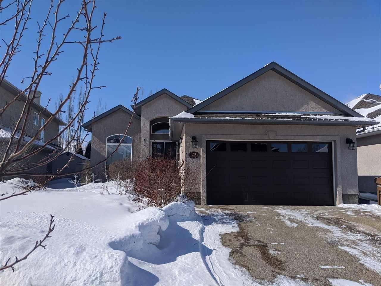 House for sale at 20 Kingsmoor Cs St. Albert Alberta - MLS: E4193100