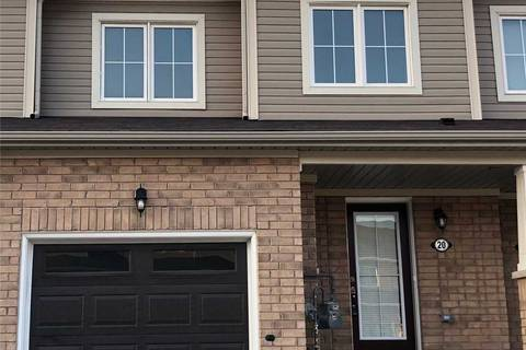 Townhouse for sale at 20 Longboat Run West Rd Brantford Ontario - MLS: X4511037