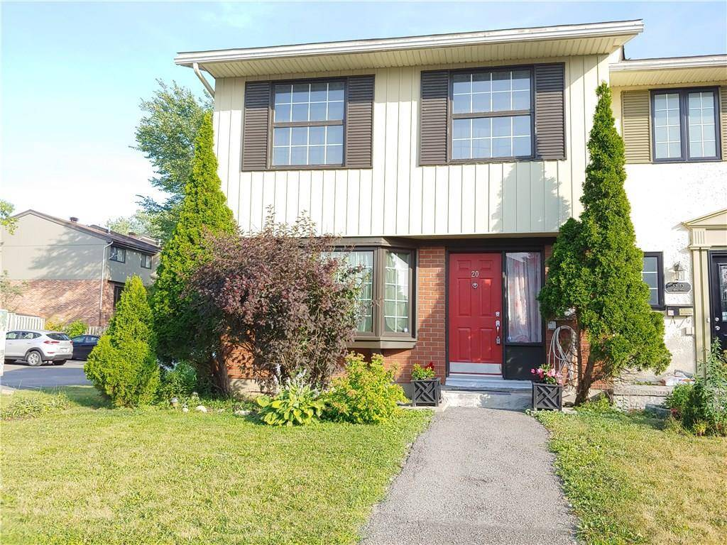 Townhouse for sale at 20 Monterey Dr Ottawa Ontario - MLS: 1165461