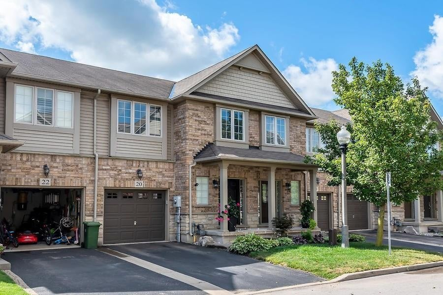 Townhouse for sale at 20 Myers Ln Ancaster Ontario - MLS: H4084784