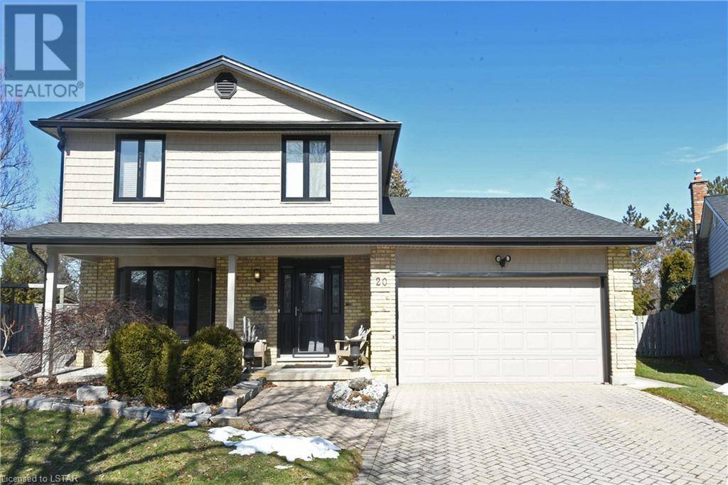 House for sale at 20 Nottinghill Cres London Ontario - MLS: 247665