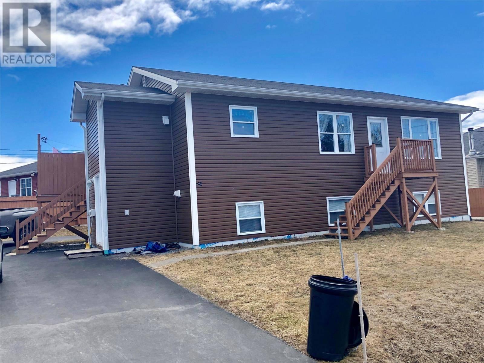 House for sale at 20 Osmond's Ave Corner Brook Newfoundland - MLS: 1198256
