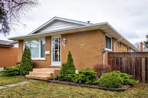 House for sale at 20 Purnell Dr Hamilton Ontario - MLS: H4051086