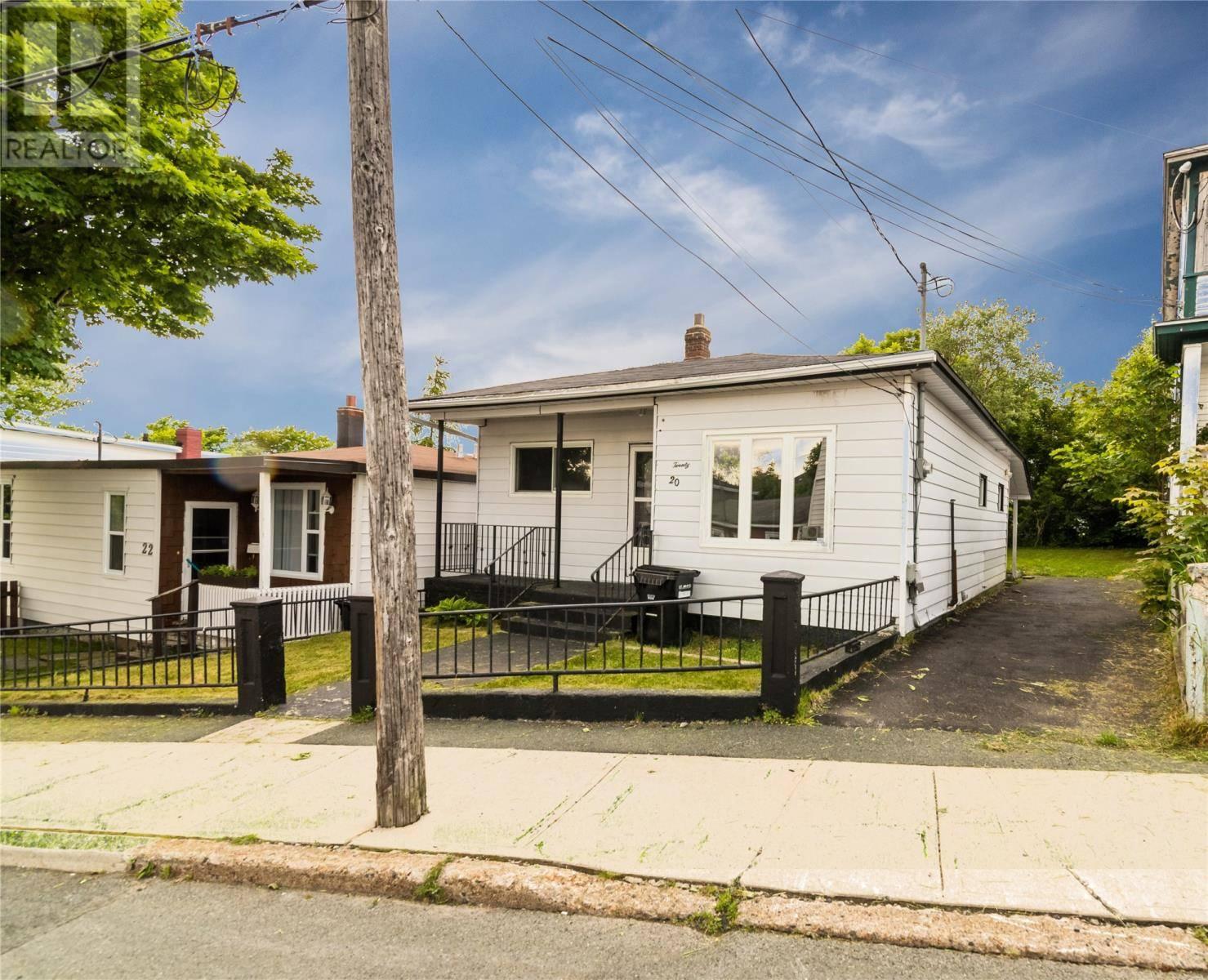 House for sale at 20 Rankin St St. John's Newfoundland - MLS: 1204831