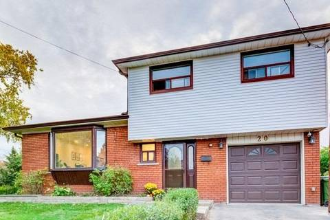 House for sale at 20 Ravenview Dr Toronto Ontario - MLS: E4520335