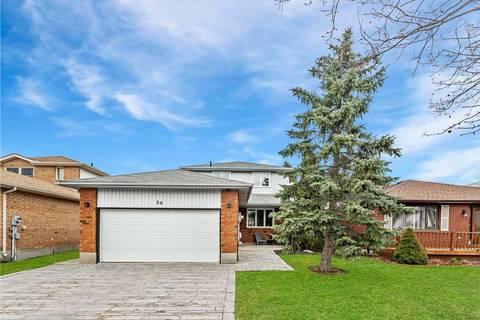 House for sale at 20 Rosenfeld Dr Barrie Ontario - MLS: S4426837