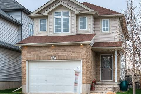House for sale at 20 Seabrook Dr Kitchener Ontario - MLS: 30732995