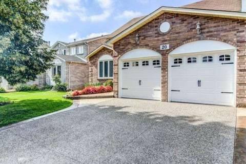 House for sale at 20 Settler Ct Brampton Ontario - MLS: W4428059