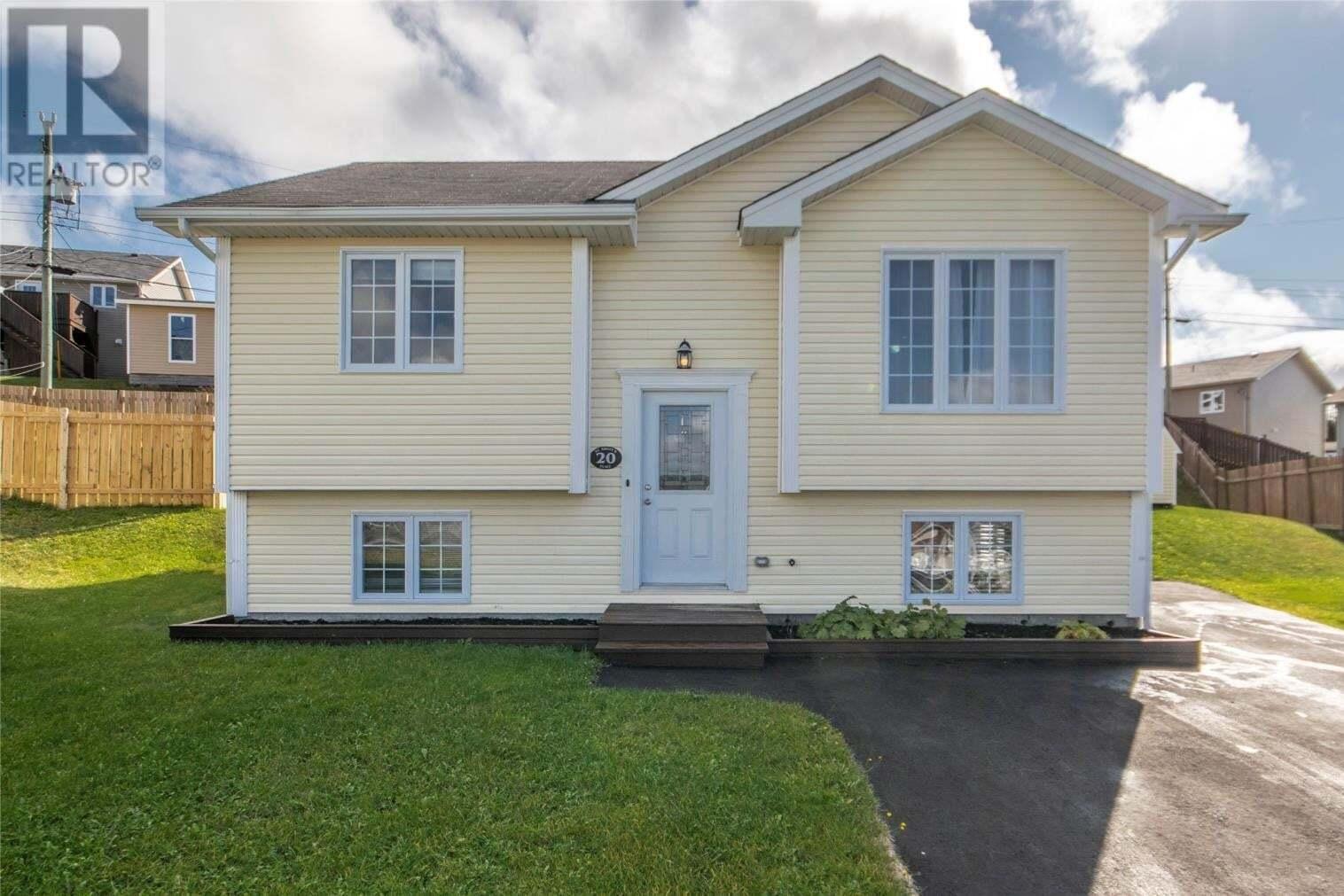 House for sale at 20 St. Shott's Pl St. John's Newfoundland - MLS: 1222576