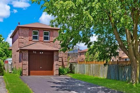 House for sale at 20 Stockbridge Cres Ajax Ontario - MLS: E4491789