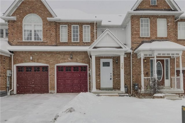 For Sale: 20 Stokely Crescent, Whitby, ON | 3 Bed, 4 Bath Townhouse for $549,900. See 20 photos!