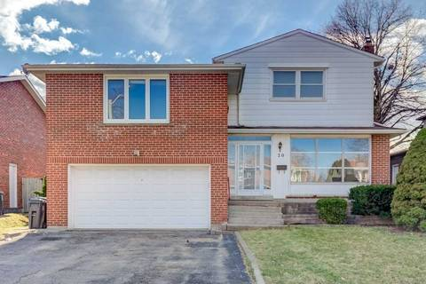 House for sale at 20 Tidefall Dr Toronto Ontario - MLS: E4415150