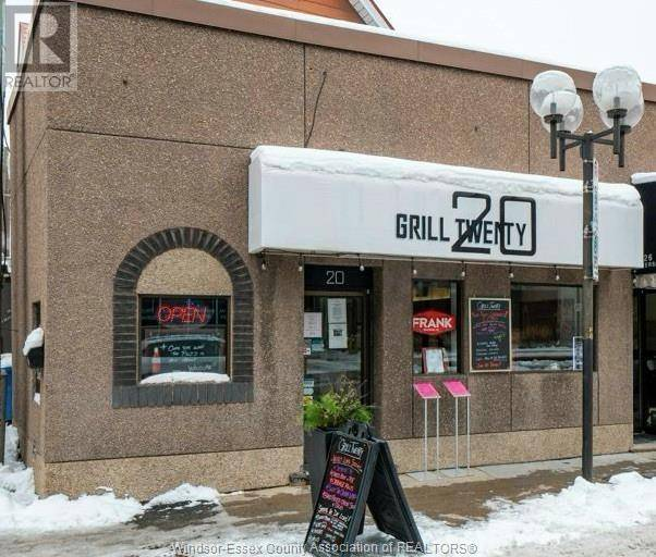 Commercial property for sale at 20 University  East Windsor Ontario - MLS: 20004855