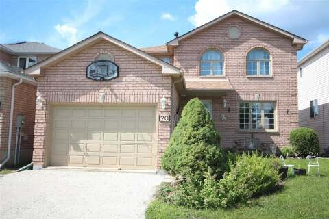 House for sale at 20 Waddington Cres Barrie Ontario - MLS: S4865768