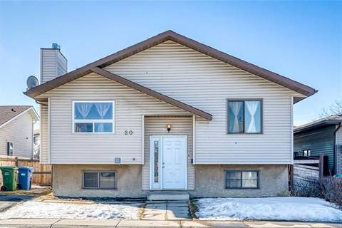 House for sale at 20 Whiteram Cs Northeast Calgary Alberta - MLS: C4289262