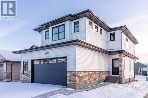 House for sale at 200 Cowan Cres Martensville Saskatchewan - MLS: SK796207