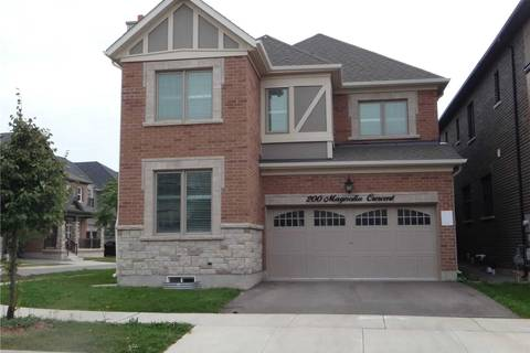 House for rent at 200 Magnolia Cres Oakville Ontario - MLS: W4569523