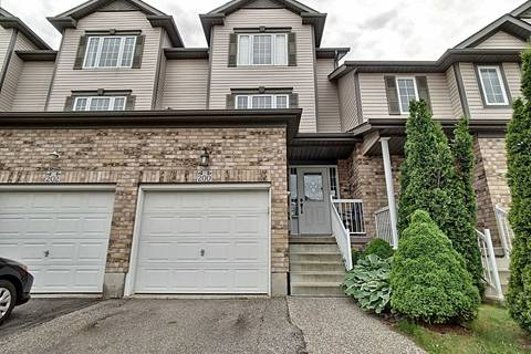 Townhouse for sale at 200 Sophia Cres Kitchener Ontario - MLS: X4483246