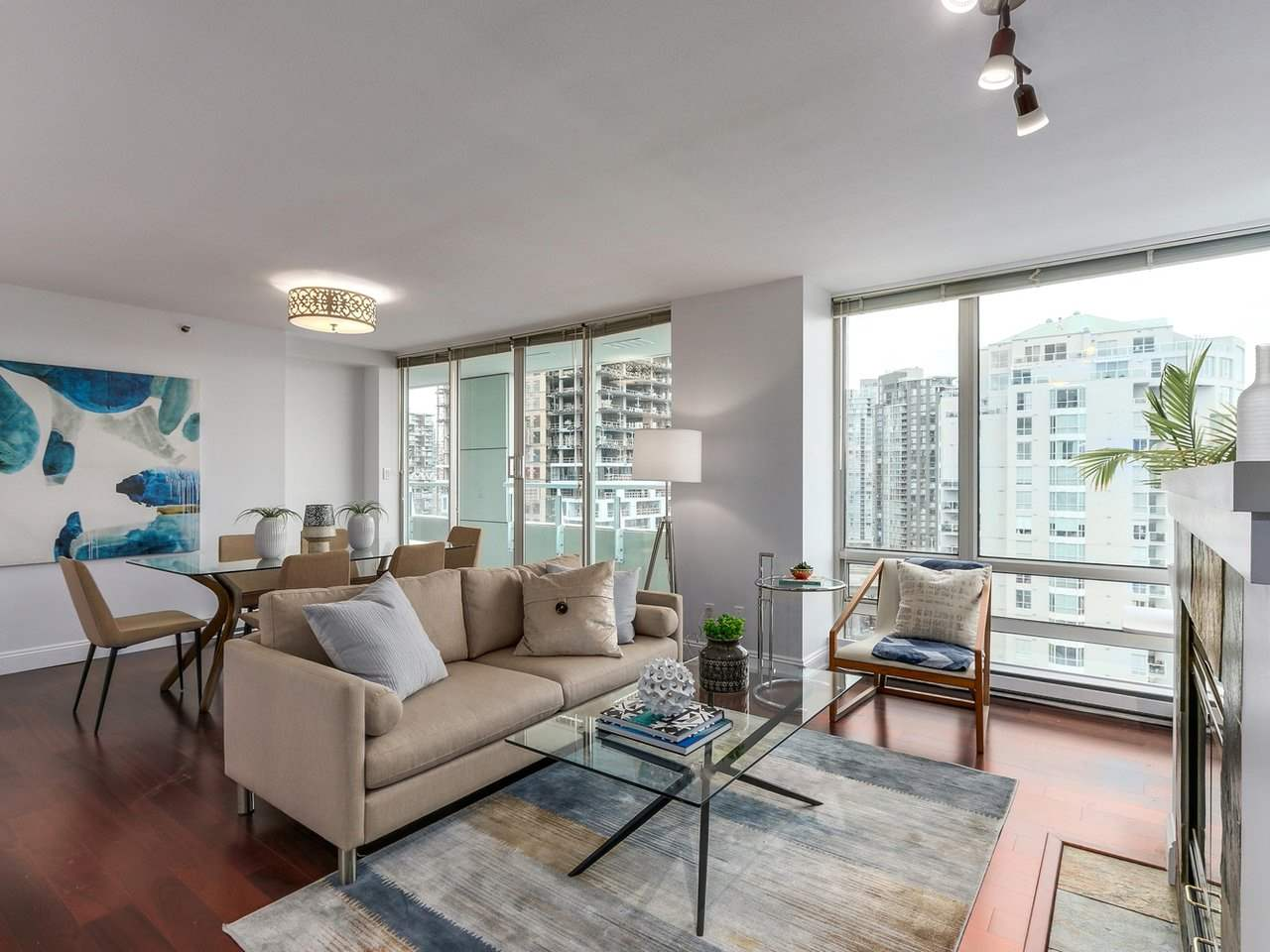 For Sale: 2001 - 1500 Hornby Street, Vancouver, BC   2 Bed, 2 Bath Condo for $1,338,900. See 16 photos!