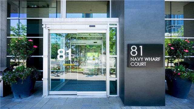 Sold: 2001 - 81 Navy Wharf Court, Toronto, ON