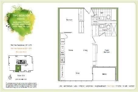 Apartment for rent at 151 Dan Leckie Wy Unit 2002 Toronto Ontario - MLS: C4736825