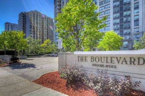 Apartment for rent at 188 Doris Ave Unit 2002 Toronto Ontario - MLS: C4628350