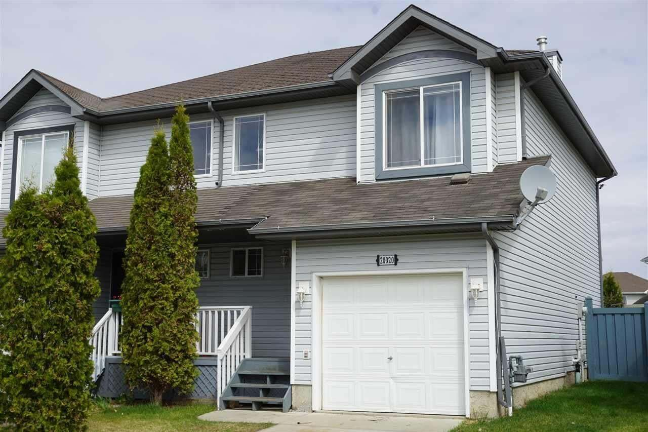 Townhouse for sale at 20020 53a Av NW Edmonton Alberta - MLS: E4186872