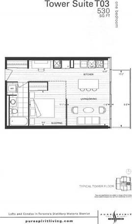 Apartment for rent at 33 Mill St Unit 2003 Toronto Ontario - MLS: C4603464