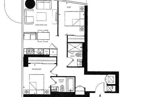Apartment for rent at 1 Bloor St Unit 2004 Toronto Ontario - MLS: C4699665