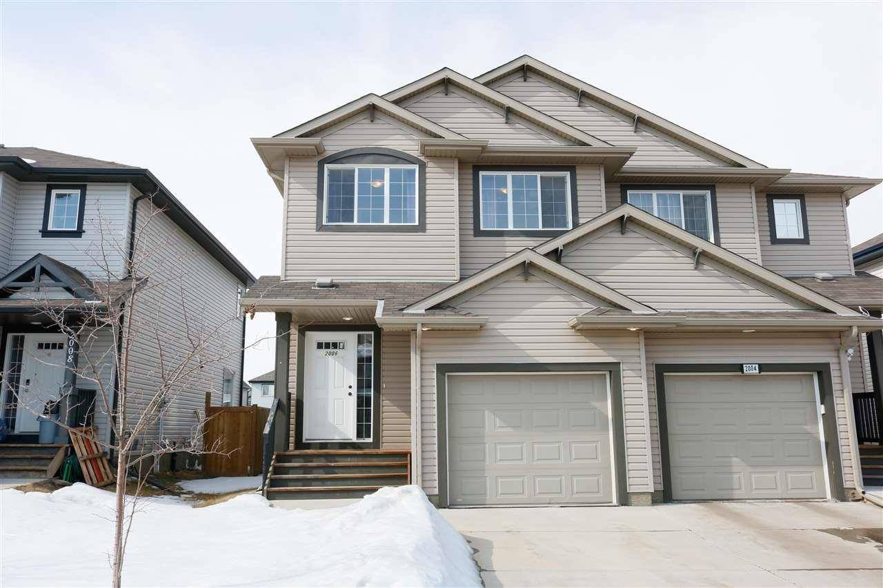Townhouse for sale at 2006 118 St Sw Edmonton Alberta - MLS: E4192474
