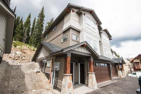 Townhouse for sale at 200 Grizzly Ridge Tr Unit #Proposed Big White British Columbia - MLS: 10162219