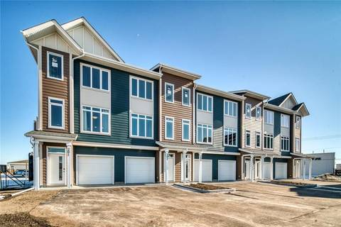 Townhouse for sale at 1035 Ross St Unit 201 Crossfield Alberta - MLS: C4293975