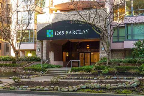 Condo for sale at 1265 Barclay St Unit 201 Vancouver British Columbia - MLS: R2439268
