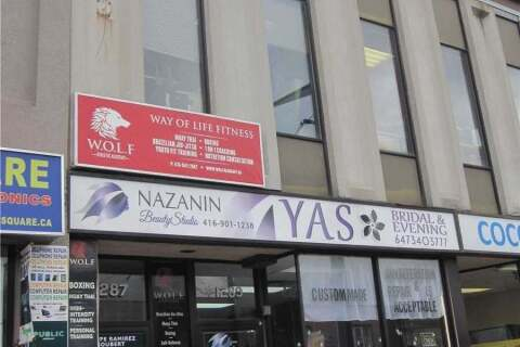 Commercial property for lease at 1287 St Clair Ave Apartment 201 Toronto Ontario - MLS: W4828405