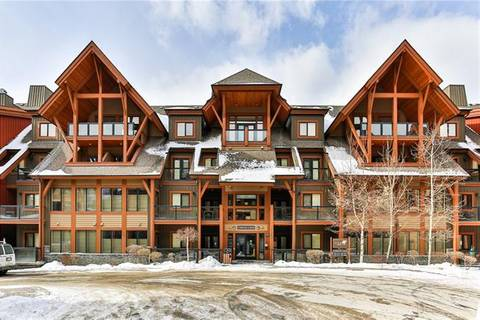 Townhouse for sale at 191 Kananaskis Wy Unit 201 Canmore Alberta - MLS: C4291370