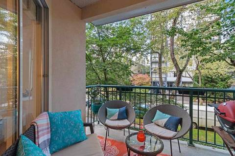 Condo for sale at 1928 Nelson St Unit 201 Vancouver British Columbia - MLS: R2407714