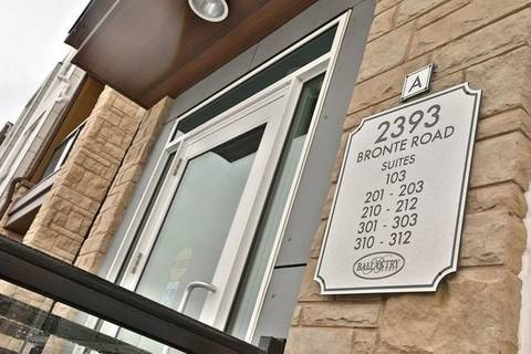 Apartment for rent at 2393 Bronte Rd Unit #201 Oakville Ontario - MLS: W4649591