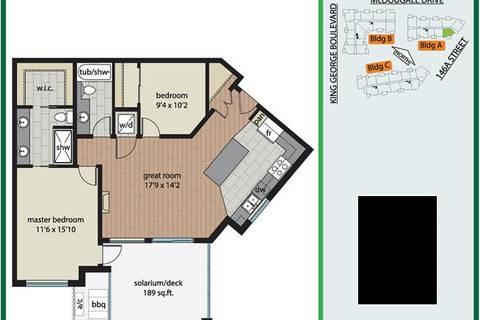 Condo for sale at 3585 146a St Unit 201 Surrey British Columbia - MLS: R2447768