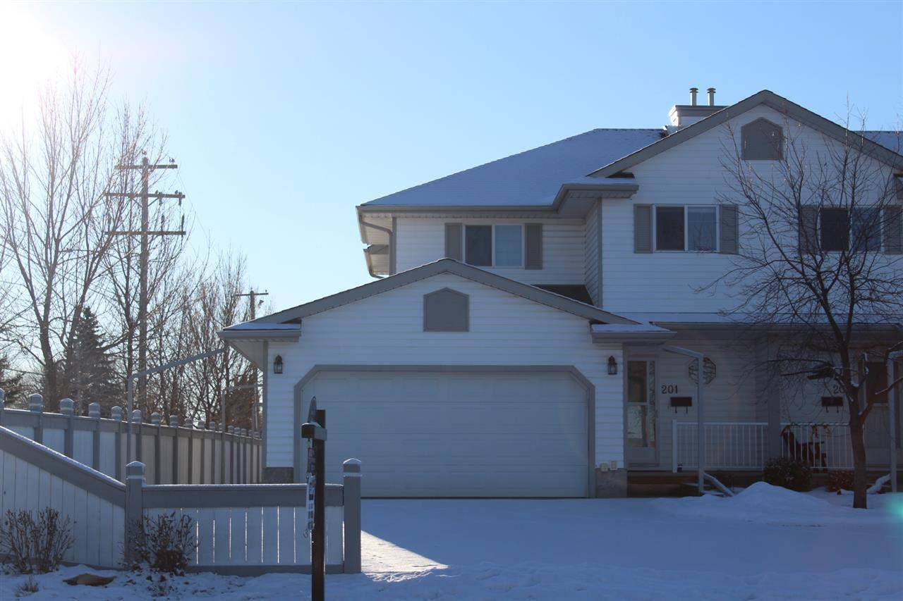 Townhouse for sale at 4807 43a Ave Unit 201 Leduc Alberta - MLS: E4157569