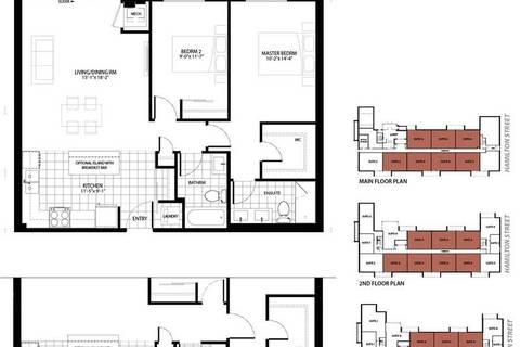 Condo for sale at 5 Hamilton St Unit 201 Hamilton Ontario - MLS: X4645409