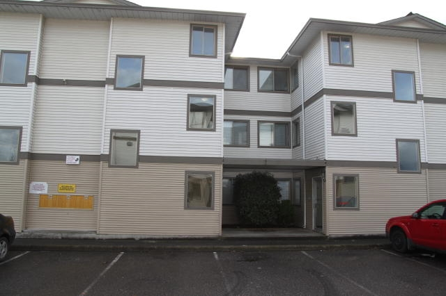 For Sale: 201 - 7435 Shaw Avenue, Sardis, BC | 1 Bed, 1 Bath Condo for $159,900. See 5 photos!