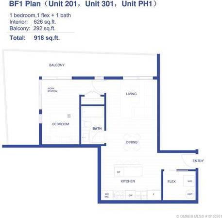 Condo for sale at 880 Saucier Ave Unit 201 Kelowna British Columbia - MLS: 10180261